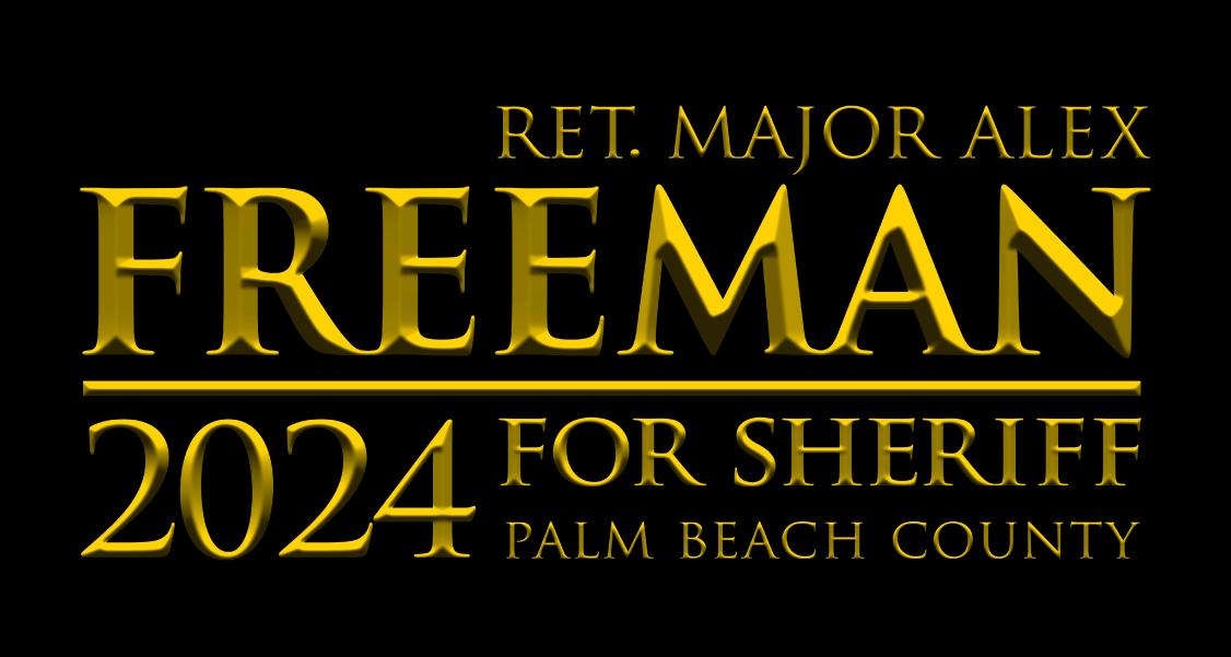 Alex Freeman for Palm Beach County Sheriff